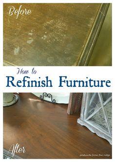 46 Best Restore Amp Repair Wood Furniture Images In 2016