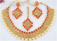 New Stunning Designer Style Indian Ethnic Traditional Bridal Wedding Women Fashion Jewelry Set. Stone: Kundan Gemstone ,Cubic Zirconia(CZ),Rhinestone,Pearl.   eBay!