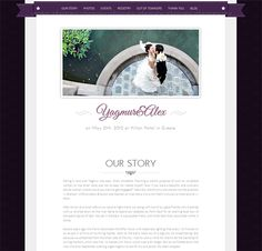 This html5 and css3 wedding site template includes google map this html5 and css3 wedding site template includes google map integration a photo lightbox 3 image slider designs and lots of other great featur pronofoot35fo Image collections