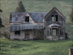 Dilapidated homestead