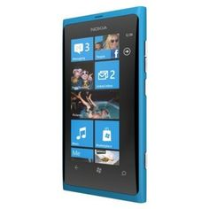 Celular Nokia Lumia 900 16GB Unlocked GSM Phone with Windows 7 5 OS AMOLED Touchscreen 8MP Camera GPS WiFi Bluetooth FM Radio Cyan Blue #Celular #Nokia
