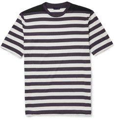 LanvinStriped Cotton T-Shirt