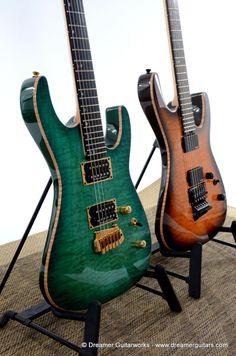 Drop Tops Dreamer  www.fb.com/dreamerguitars | Oh yeah Seymour Duncan Pickups! WOW! Nice guitars that look ♡FANTASTIC!♡