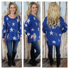 I LOVE the star sweaters!!!
