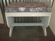 Check out this item in my Etsy shop https://www.etsy.com/listing/506293507/shabby-chic-paris-bench-vintage-wood
