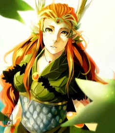 """Keyleth from Critical Role by Monica """"MonMon"""" G Cabral Madqueenmomo"""