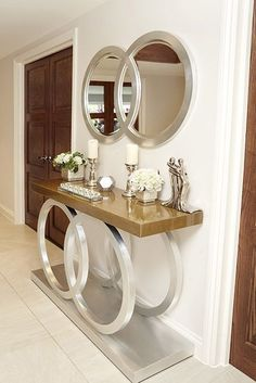 Foyer Design, House Design, Design Bedroom, Bedroom Ideas, Design Homes, Entrance Decor, Entryway Decor, Entrance Ideas, Hallway Decorating
