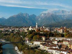 Belluno e il fiume Piave