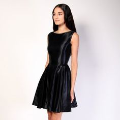 Christian Siriano Metallic Dress