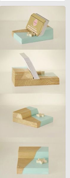 Business card holder business card stand rustic office decor business card holder colourmoves
