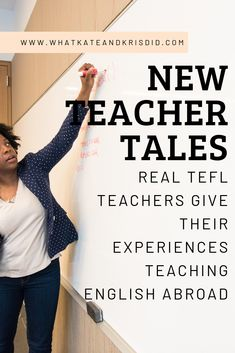 Real TEFL Teachers talk about how they started out teaching abroad and what advice they have for new teachers. Find out how to avoid the pitfalls and scams from people like you, living and working abroad. Teaching Overseas, Teaching Jobs, Teaching English Online, Education English, International Teaching, Education Degree, Education College, Traveling Teacher, Work Abroad