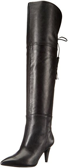 63c3bcdd156 Nine West Women s Josephine Leather Over-The-Knee Boot Review Leather Over  The Knee