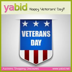 #Honoring all who #served! #Yabid wishes you a happy #VeteransDay!