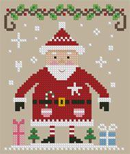 The Floss Box | Santa's Got Presents Cross Stitch