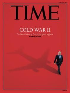 "Tendencionismo yanki... Last Time Magazine cover ""Cold War II"""