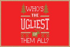 What's not to love about a Christmas party the encourages you to come cozy and get toasty? Here's how to host the ugly Christmas sweater party of the year. Holiday Party Games, Holiday Fun, Best Ugly Christmas Sweater, Bad Santa, Paperless Post, Ugly Sweater Party, Christmas Party Invitations, Holiday Photos, Animal Party