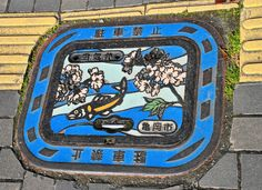 Interesting Japanese Sewer Manholes Covers