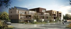 Ecoquartier , Le Havre, CBA Architecture - Projet en cours- Mixte entre béton et bois
