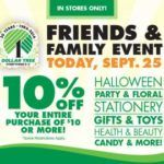 Dollar Tree: 10% off purchase of $10 or more printable coupon - http://www.couponoutlaws.com/dollar-tree-10-off-purchase-of-10-or-more-printable-coupon/