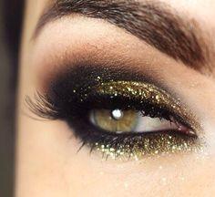 Dourado e preto!