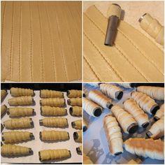 Rulouri cu crema de vanilie și aluat de casa - Rețete Merișor Frosting Techniques, Arabic Food, Biscotti, Cookies, Food, Atelier, Arabian Food, Crack Crackers, Biscuits