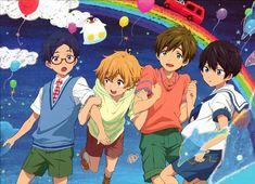 Rei, Nagisa, Makoto et Haru South Park, All Anime, Manga Anime, Anime Boys, Manhwa, Rei Ryugazaki, Otaku, Musaigen No Phantom World, Splash Free