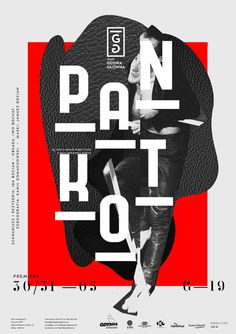 Typographic poster design by Krzysztof Iwanski Poster Design, Poster Layout, Graphic Design Layouts, Graphic Design Posters, Graphic Design Typography, Graphic Design Inspiration, Layout Design, Creative Inspiration, Daily Inspiration