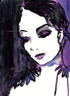 Tranquility by Jessica Buhman Print of Original by ArtbyJessBuhman, $25.00