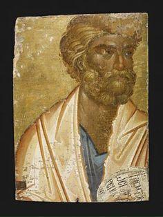 British Museum - Image gallery: Icon with St Peter Byzantine Art, Byzantine Icons, Religious Images, Religious Art, Religious Paintings, Best Icons, Orthodox Icons, Sacred Art, Catholic Saints