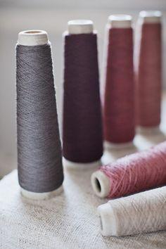 Habu Yarn --> perfect colour combination