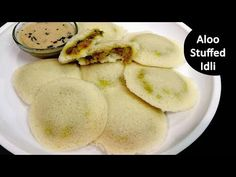 Instant Stuffed Idli Recipe - Potato Stuffed Idli - Aloo Masala Stuffed Idli Recipe - YouTube