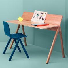 Copenhague Desk With Back Screen 190 by HAY - Ronan & Erwan Bouroullec