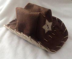 99914d906d5 Baby Infant Toddler Child Cowboy Hat felt-I m thinking black with dark tan