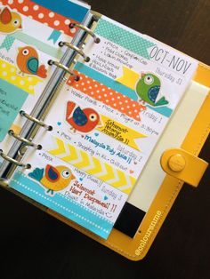decorate your planner with washi tape