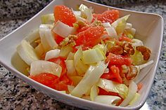 Chicoree-Grapefruit-Salat