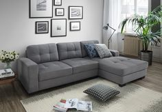 Rome L Shape - by Discount Decor. Contact us 011 616 2026/8 or 081 407 5053 (Johannesburg, South Africa) #furniture #lounge #loungesuites #couch #Lcouch L Couch, Corner Couch, Mr Price Home, Cheap Mattress, L Shaped Couch, Lounge Suites, Online Furniture Stores, Contemporary Design, Rome