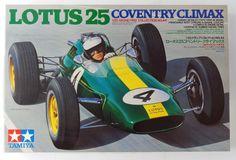 TAMIYA GP collection No.44 #20044 1/20 Lotus 25 Coventry Climax scale model kit #Tamiya