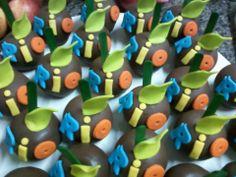 Maças de chocolate da Arara Azul filme Rio