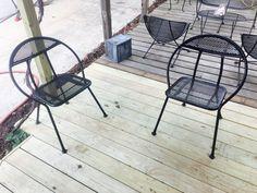 Salterini Mid Century folding chairs