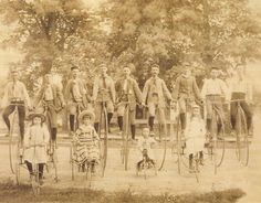 The Wheelmen - Antique Bicycles