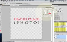 How to make a Watermark Brush in Photoshop