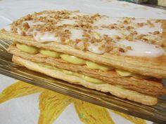 La Juani de Ana Sevilla: Milhojas de almendra