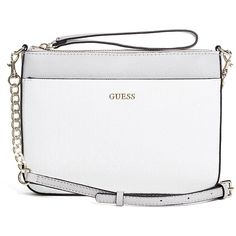 7b1ede01bb771 GUESS Janette Logo Cross-Body ($58) ❤ liked on Polyvore featuring bags,