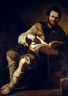 Democritus, 1630s. José de Ribera (1591 – 1652) Spanish painter.