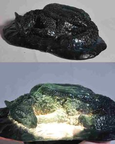dragon art// dragon sculpture// fused glass// fantasy art// fantasy sculpture