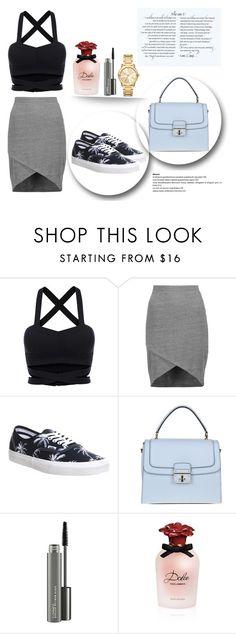 """elegant skirt"" by majda1003 ❤ liked on Polyvore featuring Splendid, Vans, Dolce&Gabbana, MAC Cosmetics and Michael Kors"