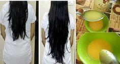 Esta receita vai estimular o crescimento e deixar seu cabelo brilhando em apenas…
