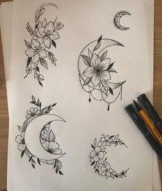 Geometric Sunflower Tattoo - Butterfly Tattoo Behind Ear - Tattoo Arm Mens - - Mini Tattoos, Flower Tattoos, Body Art Tattoos, New Tattoos, Small Tattoos, Tatoos, Lotusblume Tattoo, Piercing Tattoo, Get A Tattoo