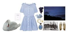 """twilight by the lake"" by mairierosina ❤ liked on Polyvore featuring Assouline Publishing and See by Chloé"
