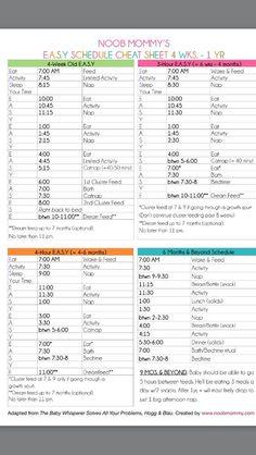 Baby schedule, breastfeeding, baby program, EASY schedule ♥: Source by Newborn Schedule, Baby Sleep Schedule, Baby Wise Schedule, Feeding Schedule For Baby, Pumping Schedule, Toddler Schedule, Baby Schlafplan, Baby Kind, Baby Whisperer